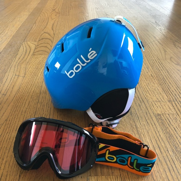 Bolle Other Brand New Kids Ski Helmet And Goggles